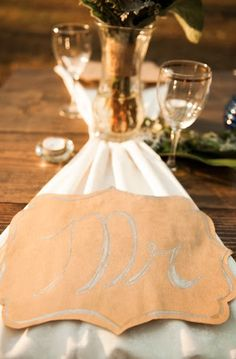 We can't say enough about this adorable place setting or the groom! What an important detailed image from 3Eight Photography! Click the image for more information. Photo credit: 3Eight Photography