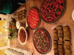 April certification raw Saturday night dinner. Pizza, enchilada, chili, etc...