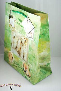 Soft Coated Wheaten Terrier Dog Gift Bag