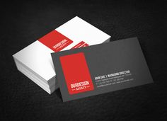 Clean Professional Business Card by ~glenngoh on deviantART  http://www.techirsh.com