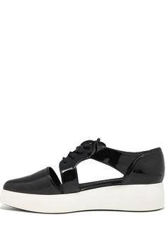 Černé boty na platformě s průstřihy Sixtyseven(305454) - 5 Mary Janes, Slip On, Sneakers, Shoes, Fashion, Tennis, Moda, Slippers, Zapatos