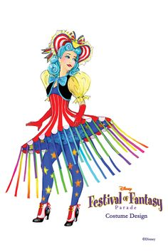 Sneak Peak of Disney's Festival of Fantasy Parade Costumes | DisneyLifestylers