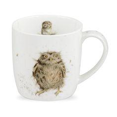 Portmeirion Royal Worcester Wrendale Designs What a Hoot Owl/Tasse aus feinem Porzellan, 1 Stück: Amazon.de: Küche & Haushalt