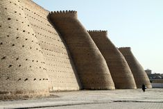Bukhara - Wall of the Bukhara Fortress