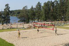 Tuomiojärvi beach. ©Visit Jyväskylä Photo: Keijo Penttinen.