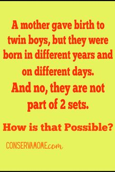 Check out this fun brain teaser. Can you guess what the answer is? If not head over to my page to see this and other fun Tricky Riddles With Answers, Brain Teasers With Answers, Really Hard Riddles, Brain Teaser Questions, Funny Brain Teasers, Brain Teasers Riddles, Brain Teasers For Adults, Brain Teaser Puzzles, Puzzles