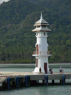 Bang Bao #lighthouse - Koh Chang, #Thailand - http://dennisharper.lnf.com/