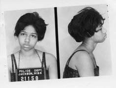 Delores Lynch, 15 year old Freedom Rider, 1961.