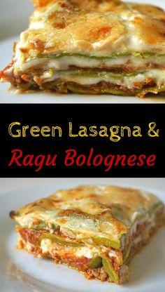 Green Lasagna Bologn