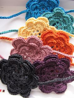Irish rose crochet bracelets