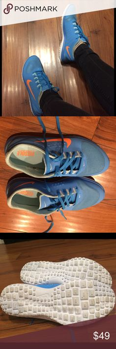 Like new NIKE Gorgeous blue color. Excellent condition like new. Ship same day Nike Shoes Sneakers