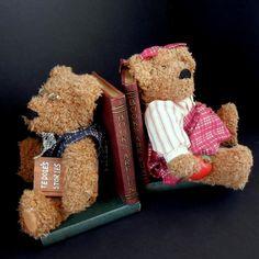 Teddy Bear Bookends