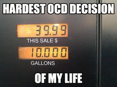 Biggest OCD moment. Ever. Of all time.