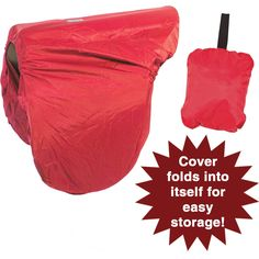Dura-Tech® English Saddle Cover In A Pouch in Cases & Covers