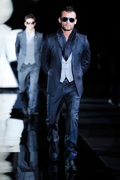 Emporio Armani Fall 2010 Menswear - Collection - Gallery - Style.com