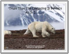 Trust that the unfolding is perfect as it is... *Abraham-Hicks Quotes (AHQ2102) #workshop