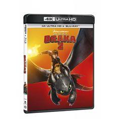 Blu-ray Jak vycvičit draka 2, UHD + BD, CZ dabing   Elpéčko - Predaj vinylových LP platní, hudobných CD a Blu-ray filmov