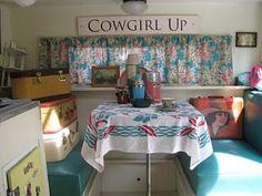 Cowgirl Up...my kinda vintage camper!