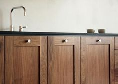 Kitchen: Viola Park Kitchen System. Walnut Kitchen CabinetsWood ...