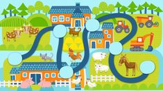 Lähde Seikkailukoneen matkaan! Crafts For Kids, Kids Rugs, Activities, Frame, Illustration, Decor, Crafts For Children, Picture Frame, Decoration