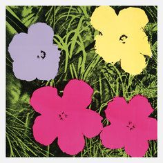 Warhol—Flowers III, $35, now featured on Fab.