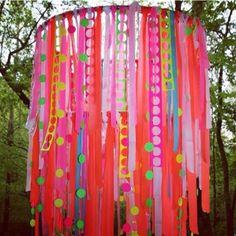 Hula Hoop and Ribbon