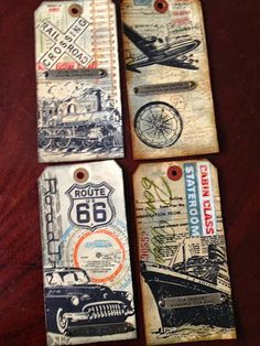 Tim Holtz August tags