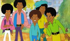 The Jackson Five Cartoon from the 1970's....