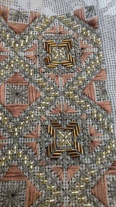 Gallery.ru / Фото #26 - ιουλιος - ergoxeiro Beaded Embroidery, Cross Stitch Embroidery, Cross Stitch Patterns, Embroidery Designs, Easter Flower Arrangements, Sewing Leather, Gold Work, Needle And Thread, Needlepoint