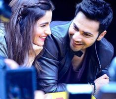 10 Pics of Varun Dhawan and Alia Bhatt which prove they make the cutest B-Town couple!- Alia-Varun 6 WhatsApp us for Purchase & Inquiry : Buy Best Designer Collection from padukon Bollywood Couples, Bollywood Stars, Bollywood Celebrities, Bollywood Actress, Cute Celebrities, Romantic Couples, Cute Couples, Tgif, Varun Dhawan Photos