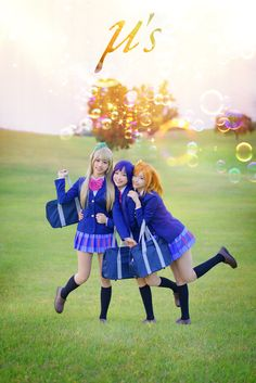 honoka, kotori and umi - CoCoSoRi Honoka Kosaka, Umi Sonoda Cosplay Photo - WorldCosplay