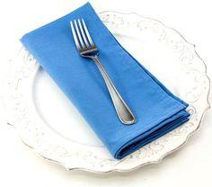 Dinner Napkin in Cornflower