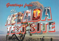 Nevada test site history and pics! Love it! <3