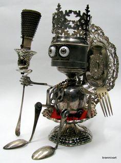 Image result for junk robot