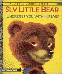 Sly little bear