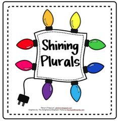 Pitner's Potpourri: Shining Plurals - Freebie