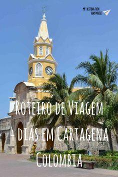 Roteiro de Viagem de 4 dias - Colômbia - Cartagena