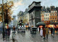 """Antoine Blanchard:  """"Porte St. Martin"""""""