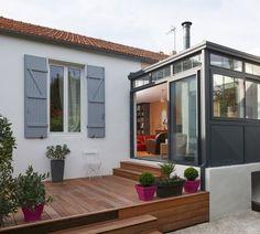 r novation d 39 une maison ami noise dans un style contemporain gr ce l 39 int gration de. Black Bedroom Furniture Sets. Home Design Ideas