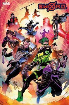 Marvel Comics Art, Marvel Comic Books, Comic Movies, Marvel Characters, Marvel Dc, Book Cover Art, Comic Book Covers, Savage Dragon, Superhero Design
