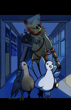 The Haunting of Hato House by playerprophet.deviantart.com on @DeviantArt