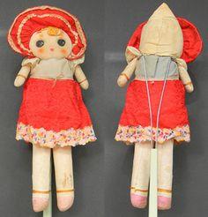 Vintage Japan Bunka doll