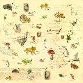 Charles Darwin fabric