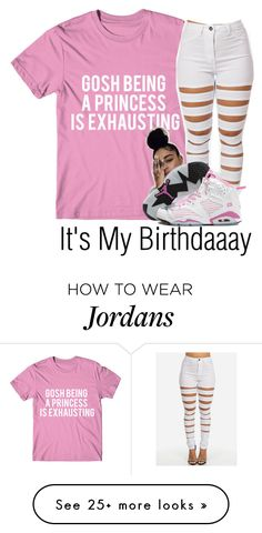 """My Birthday--"" by be-you-tiful-flower on Polyvore featuring NIKE"