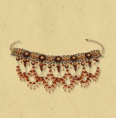 Michal Negrin Lace Choker Necklace 9584