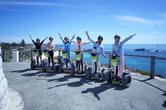 The view from above was just super gorgeous! Awesome sunny day at Rottnest Island with these cool peeps on our Segways! Managed to reach up to the lighthouse with them ! Yay! With @kneok @careentxy @bobostephanie @eelianlee and photo from @karenkh0's camera.  #rnadiaTRAVELS #AirAsiaX #rottnestisland   #SeeAustralia #wearaere #bloggeratti #ThisIsWA #WesternAustralia by rnadiasabrina http://ift.tt/1L5GqLp