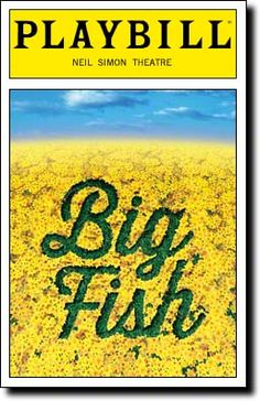 Big Fish begins previews tonight at Broadway's Neil Simon Theatre