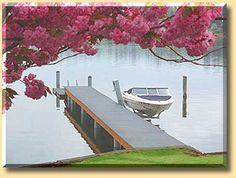 Viking Boat Lift - Photos Boat Hoist, Outdoor Furniture, Outdoor Decor, Sun Lounger, Vikings, Building, Photos, House, The Vikings