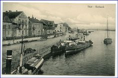 Tilsit, Bollwerk, um 1910