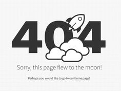 Icon design to illustrate and give the 404 error page a little bit of style.  You can see it live here http://www.3818.com.ar/error404